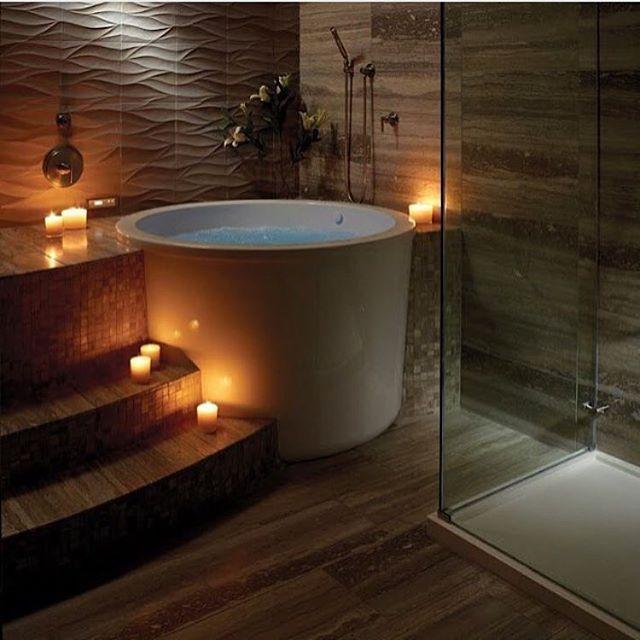 LUXURY BATHROOM WITH SPA TOUCH! http://www.maisonvalentina.net/ #luxurybathroom #beautifulbathrooms #amazingideas #designideas