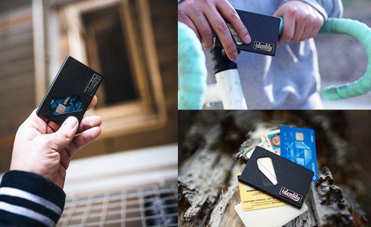 Identity Wallet Has Been Announced on Kickstarter - http://gadgetswizard.com/identity-wallet