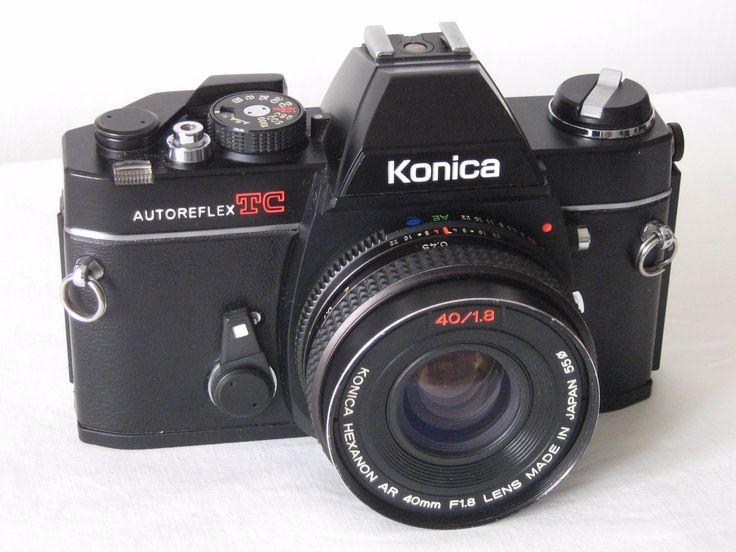 KONICA AUTOREFLEX TC SLR fotocamera 35mm + obiettivo HEXANON AR 40mm f/1.8 | Fotografia e video, Fotografia analogica, Fotocamere analogiche | eBay!