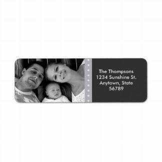 Personal Photo Address Label