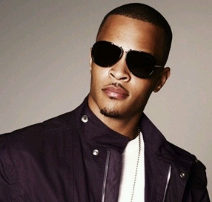 T.I my fav rapper , handsome much ?   Rappers... R&B dudes ...