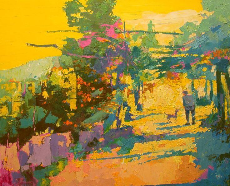 "Saatchi Art Artist: Alex Bertaina; Oil 2004 Painting ""Il tempo dei mandarini"""