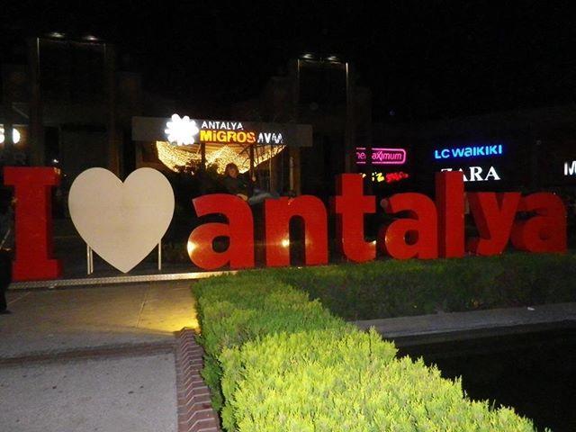 It is a double edged heart. #antalya #turkey