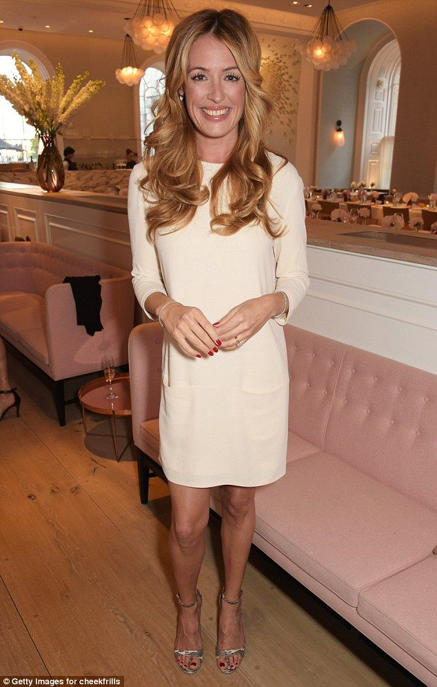 Cat Deeley wows in mini-dress at event with husband Patrick Kielty #dailymail