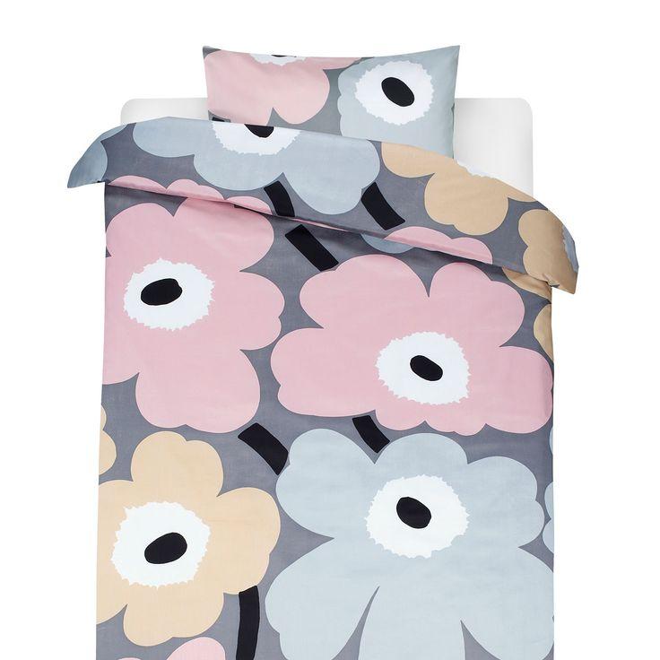 Unikko bäddset, pastell från Marimekko – Köp online på Rum21.se