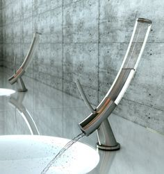 One Liter Limit: An Elegant Faucet Solution To Water Waste  ... see more at InventorSpot.com