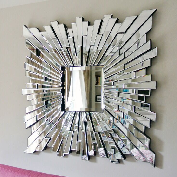 shattered glass mirror mirror art pinterest