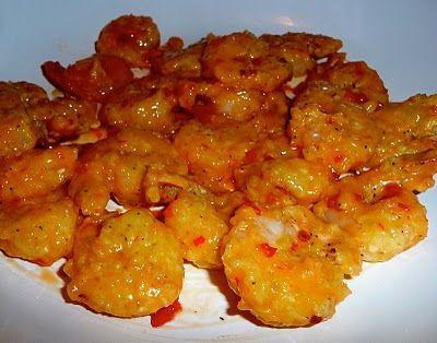 Bang Bang shrimp. I think it's like the amazing coconut shrimp at restaurants...mmm