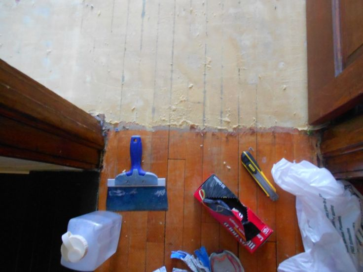DIY Removing Carpet Glue from Hardwood Floors.  Restoring original charm.