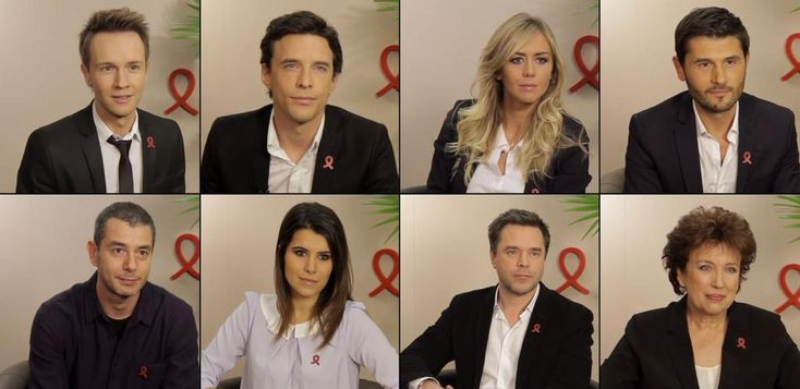 Les stars s'engagent contre le #SIDA #Sidaction