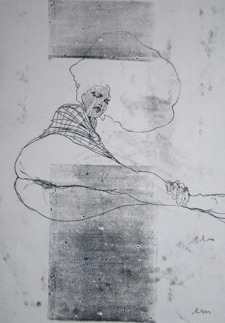 NUDE No. 3217 60 x 40 cm