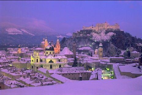 Winter in Salzburg <3