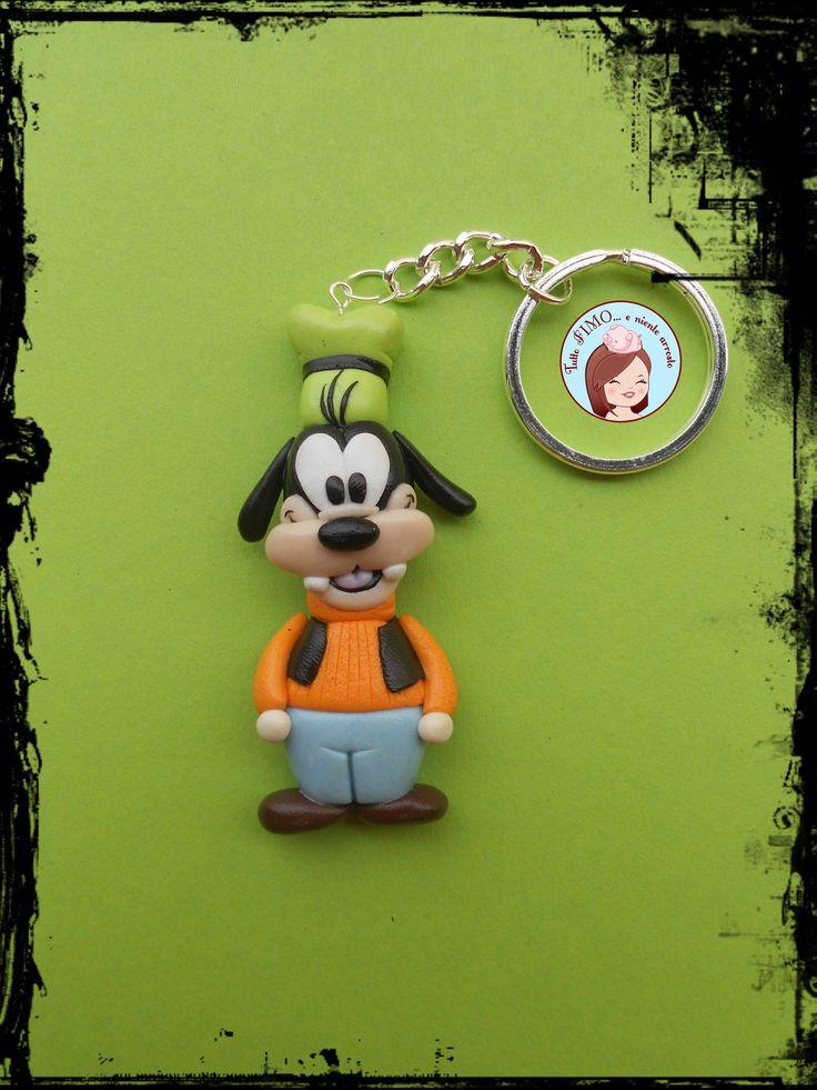 Goofy #Fimo #PolymerClay #Disney #tuttofimo