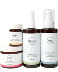 The Complete Transformative Skin Care Line Nature has within it, the innate ability to remain in a state of balance. Our goal was to create skin care that can benefit everyone. Our system is designed to promote the long term health and resiliency of your complexion. It works to balance oil production, whether your skin is overproducing and congested or under-producing and dry. A daily routine comprised of 100% natural Rocky Mountain Soap Company skin care is the kindest way to care of your…