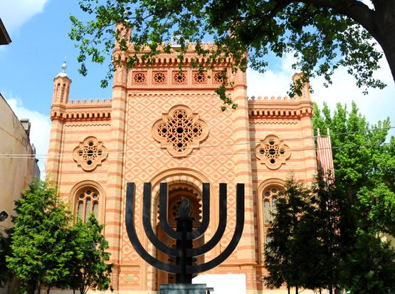 The Choral Temple is a synagogue and the most important Judaist religious building in Romania. #visitBucharest