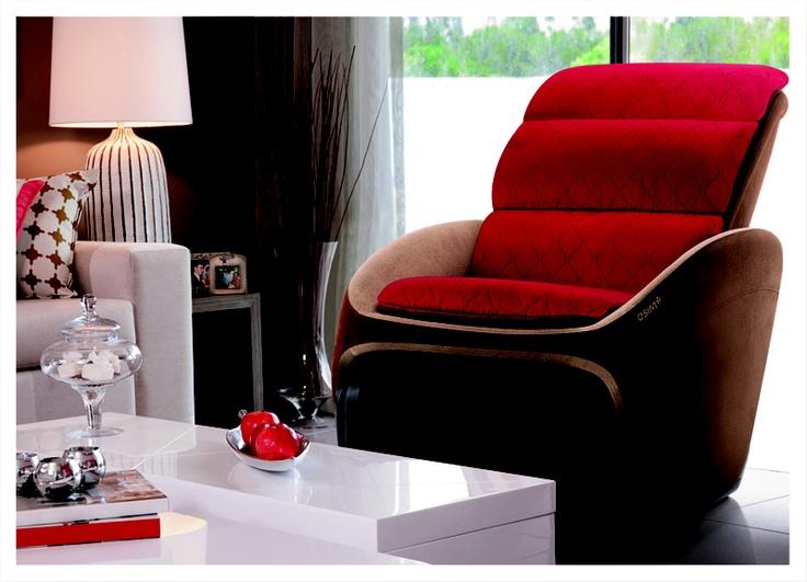 High Tech and stylist OSIM uInfinity Massage Chair is