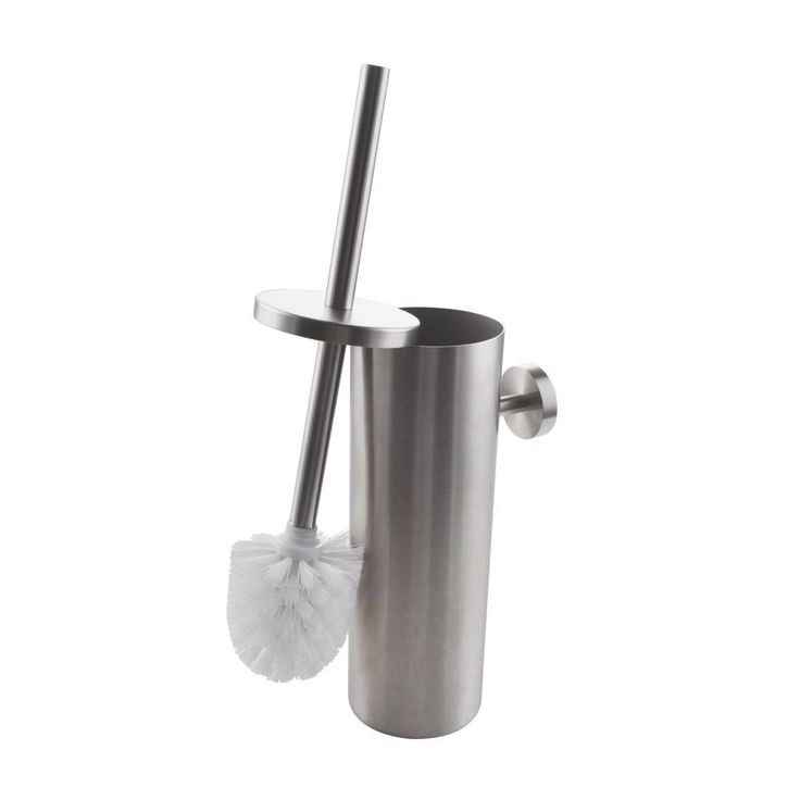 Amazon.com: KES SUS 304 Stainless Steel Toilet Brush Wall Mount for Bathroom Storage Modern Style Brushed Finish BTB260-2: Home & Kitchen