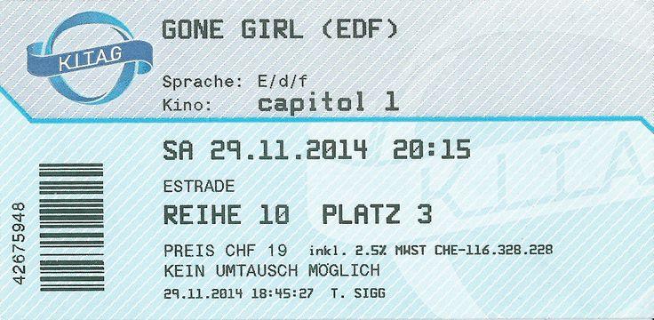 Cinema. German. November 2014.