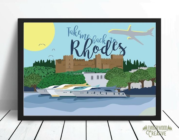 A custom illustrated a3 print for @staceyshaunsmum for Christmas ( she super loves her Greek holiday 😉 ) .  .  .  .  .  .  .  #greek #greece #rhodes #illustrator #illustration #drawing #doodle #colour #art #frame #bespoke #graphicdesign #desigb #etsy #etsyseller #etsysellersofinstagram #etsyuk #anglesey #freelance #designer