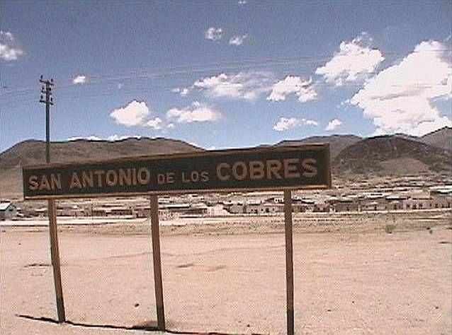 San Antonio   San Antonio de los Cobres - Provincia de Salta