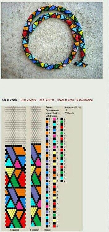 Knitulator sucht #Häkelideen: Häkelarmband. Armband bead crochet-just love it!