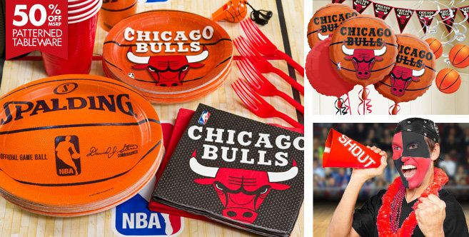 Chicago Bulls Party Supplies
