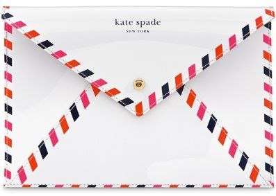 Kate Spade has come such a long way from boring corporate totes and satchels to fun and flirty seasonal clutches, shoppers, wallets and textured totes.