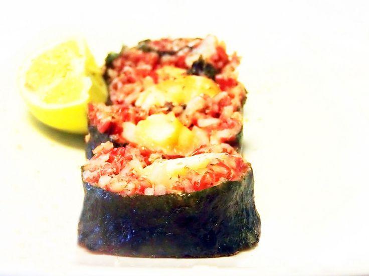 Le ricette di Alfredo Iannaccone: Maki sushi