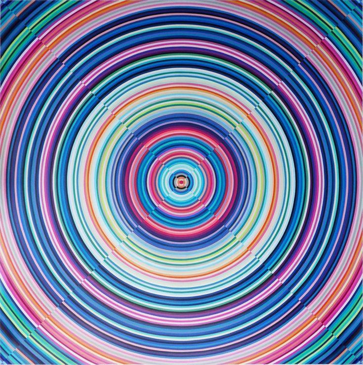 esta imagen la escogí porque se trataba de un claro ejemplo de ritmo concentrico y porque me llamo la atención ante otras obras.