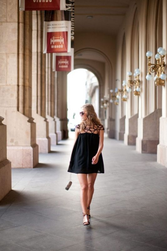 We love Viki's (kerubinabmb.wordpress.com) dress on streetfashionbudapest.hu (Bershka, Forever 21 and Sheinside)