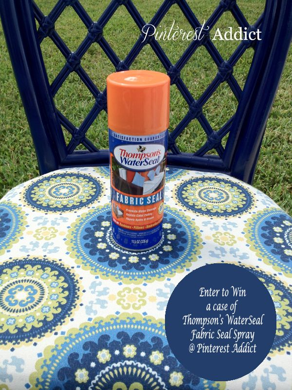 Thompson S Water Seal Fabric Seal Spray Giveaway Patio
