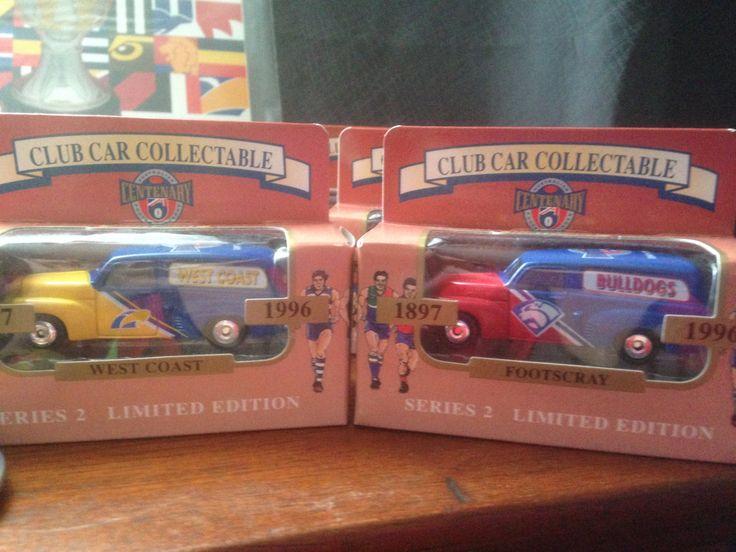 MATCHBOX CARS- AFL Centenary 1996 by SparklyRandom on Etsy