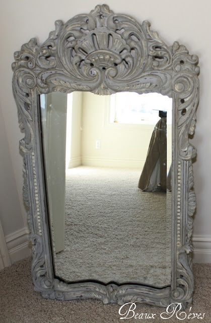 25 Best Ideas About Chalk Paint Mirror On Pinterest