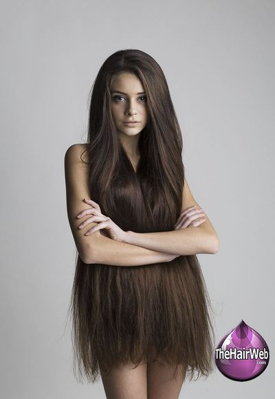 long thick hair women nude