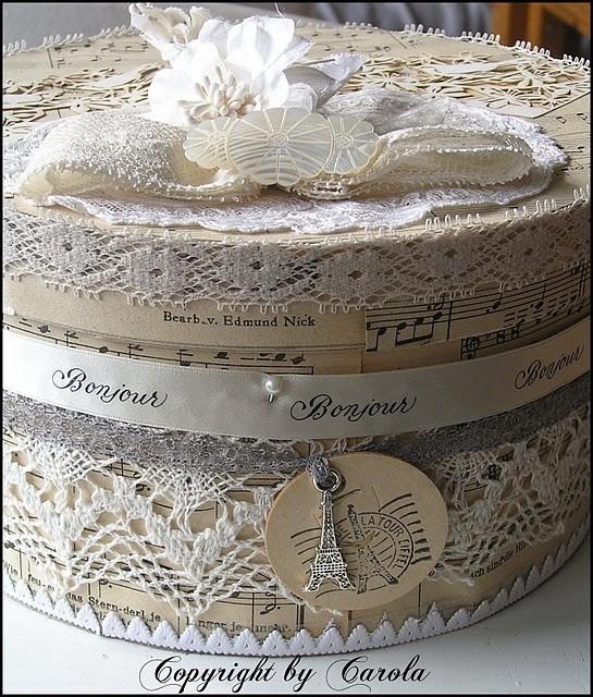 Paris hat box by Janny Dangerous