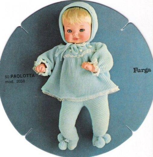 Paolotta Furga bionda catalogo dolly do 1970