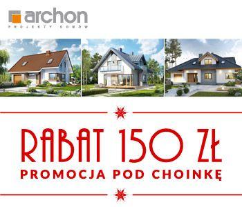W grudniu dla wszystkich naszych Klientów przygotowaliśmy specjalną promocję. Wszystkie projekty domów oferujemy z rabatem 150 zł. Dodatkowo do projektu dołączamy zestaw prezentów o wartości 1 900 zł.