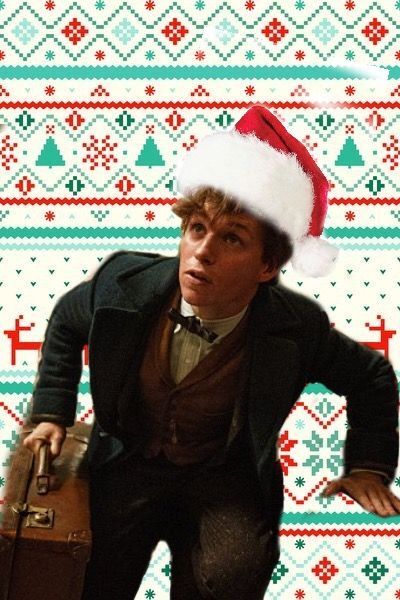 Newt Scamander Christmas edit