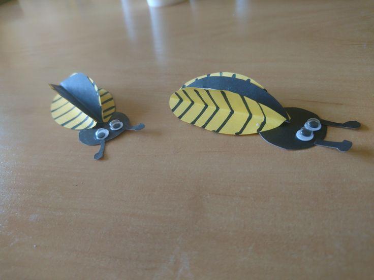 Pszczoła 3D bee DYI ART ACTIVITIES FOR KIDS