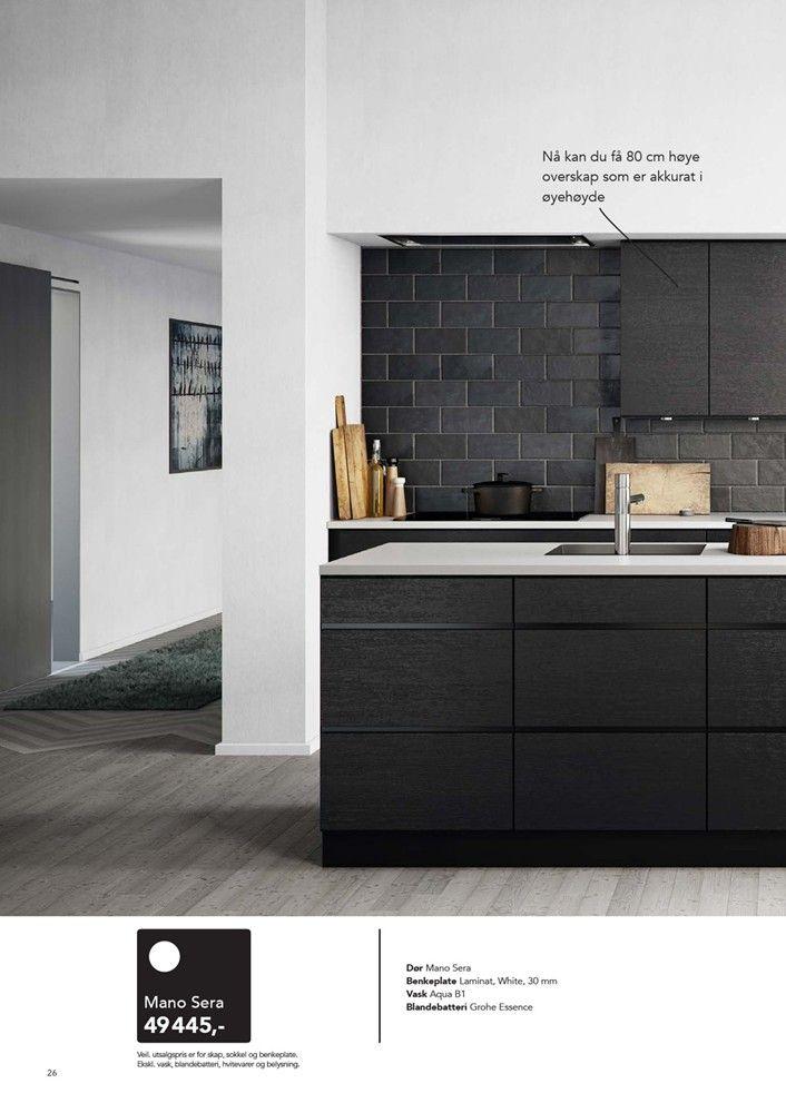 52 best Kjøkken / Kjøkkeninspo / Kitchen images on Pinterest ...