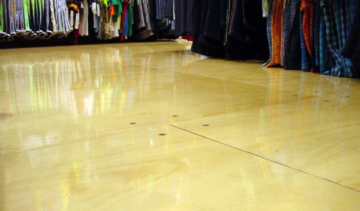 allan key screw plywood floor