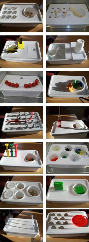 ideas for work task boxes