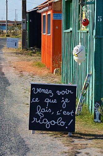 Blandine sur l'île d'Oléron
