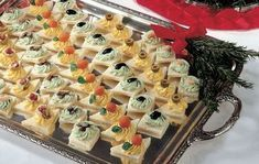 Vassoio di tartine di La Cucina Italiana