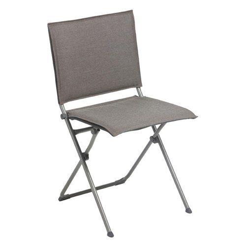 Outdoor Lafuma Anytime Privilege Batyline Folding Lawn Chair - LFM2638-7711