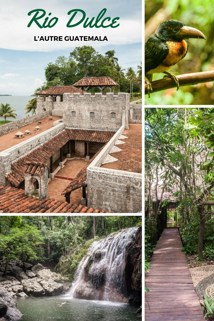 Découvrez une autre facette du Guatemala. D'el castillo jusqu'à Livingston le long du Rio Dulce c'est une succession de découverte culturelle et naturelle.