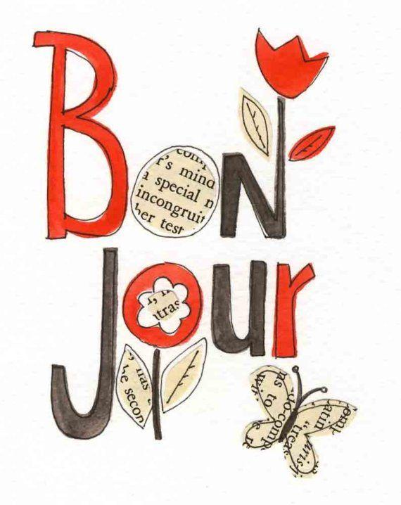 ...Bonjour ~ citation français ~