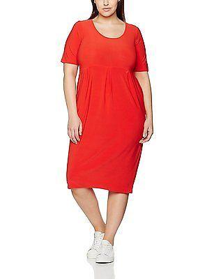22 (Manufacturer Size:22/24), Red, Evans Women's Pocket Dress NEW