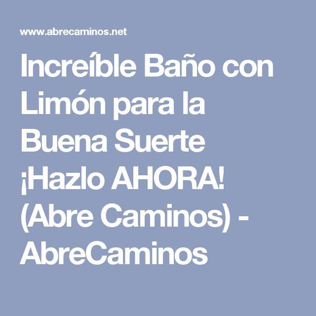 Best 25 para la buena suerte ideas that you will like on - Banos para la buena suerte ...