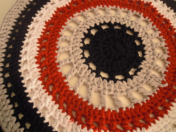 Alfombra trapillo / miss crochet Rakkel - Artesanio: Crochet Tapet
